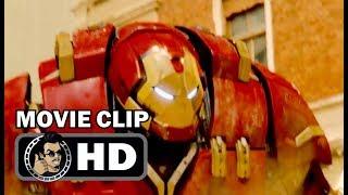 AVENGERS: AGE OF ULTRON Movie Clip - Hulk VS Hulkbuster (2015) Robert Downey Jr. Marvel Movie HD
