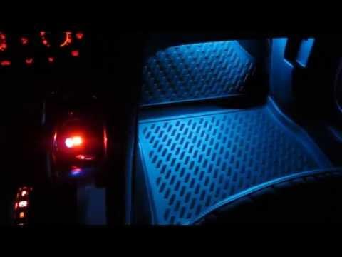 Пересвет салона Astra J - MTF Light RGB + Controller Round