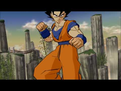 Goku and Gohan Potara Fusion into Gokhan