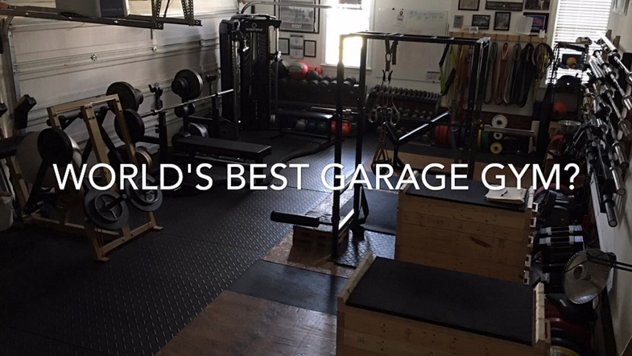 World s best garage gym blatnikstrength youtube