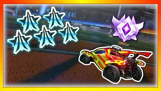 1 Grand Champ vs 5 Platinums (The most challenging Rocket League match)