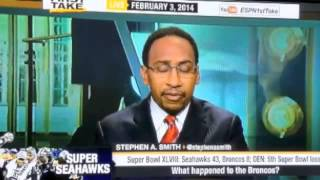 First Take - Seahawks DESTROY Broncos to win Superbowl 48 Reaction - ESPn First Take
