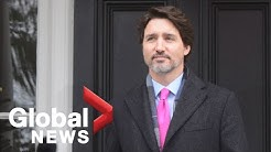 Coronavirus outbreak: Trudeau eases wage subsidy rules for businesses showing revenue loss