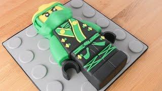 LEGO Ninjago - Torta decorada de Lloyd - Tan Dulce