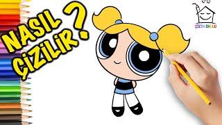Nasıl Çizilir? - Powerpuff Girls - Resim Çizme - ÇİZİM OKULU