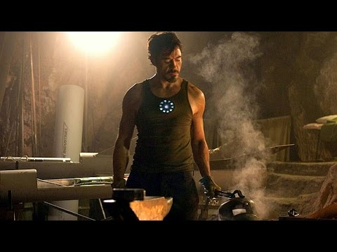 Tony Stark Builds Mark 1 - First Suit Up Scene  - Iron Man (2008) - Movie CLIP HD