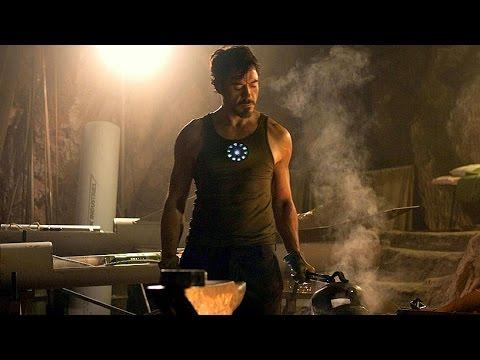 Tony Stark Builds Mark 1 - First Suit Up Scene  - Iron Man (2008) - Movie CLIP HD