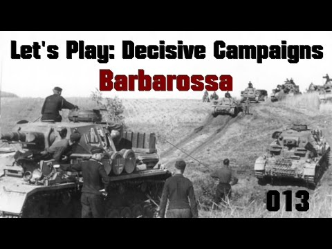 Let's Play Decisive Campaigns: Barbarossa (Germany) Part 013: Army Group South Fuel Issues