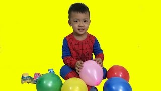 Learn Colors with Balloons | educational video for children