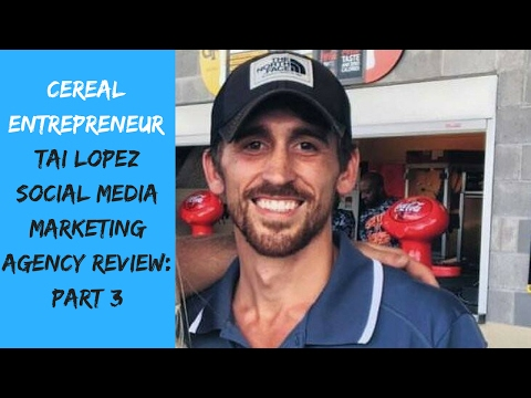 Tai Lopez Social Media Marketing Agency Review: Part 3