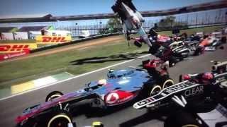 Biggest F1 Crash Ever!