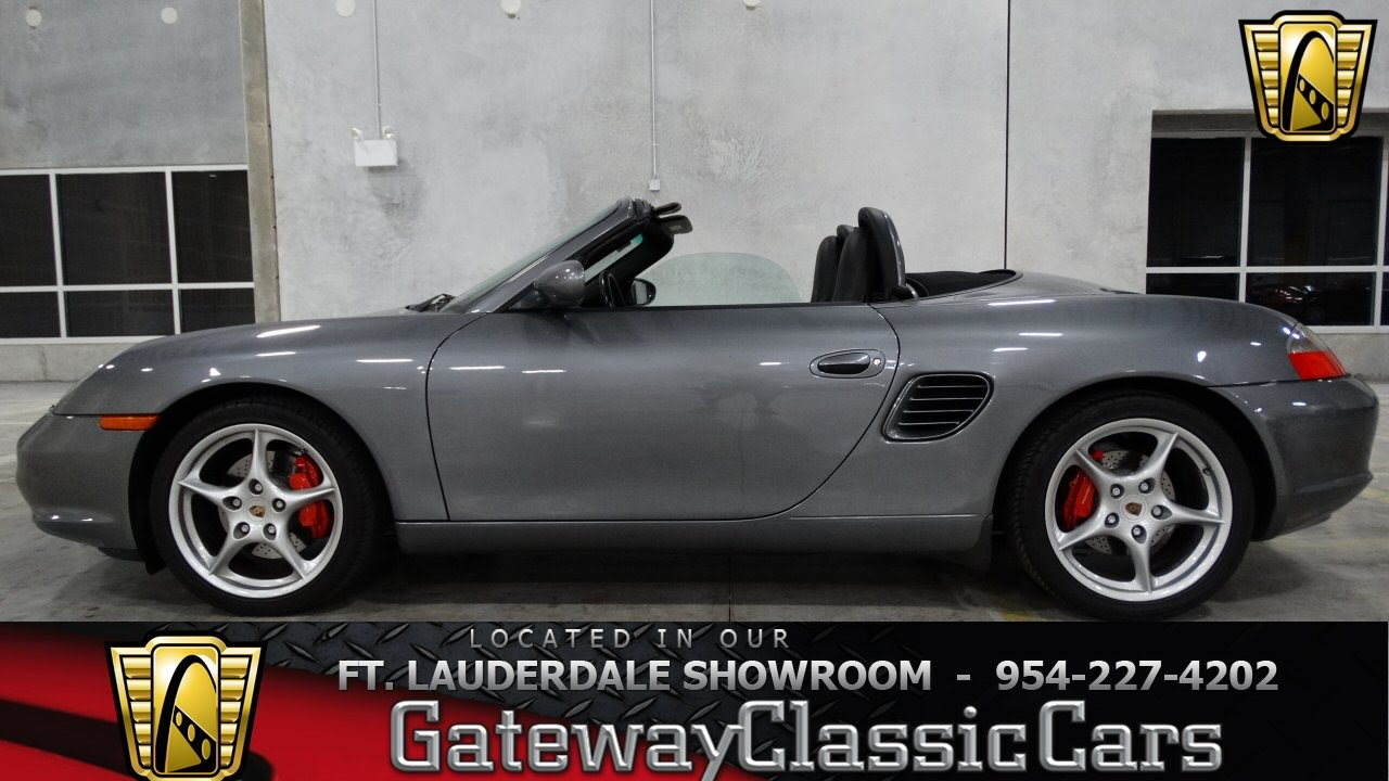 2004 porsche boxster s gateway classic cars of fort. Black Bedroom Furniture Sets. Home Design Ideas