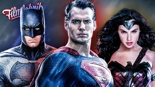 DAS ist die JUSTICE LEAGUE! - Alles was du vor BATMAN V SUPERMAN wissen musst!