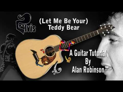 Let Me Be Your Teddy Bear  Elvis  Acoustic Guitar Less easyish