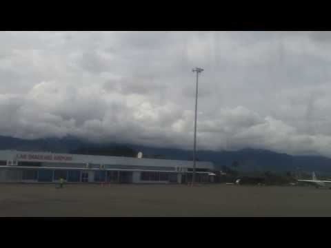 Landing in Nadzab Airport (Lae City)