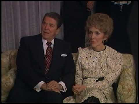 President Reagan's Trip to California, Voting and Watching Election Results on November 6, 1984