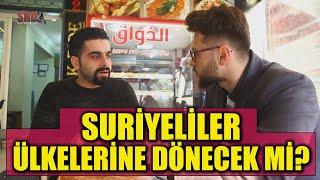Suriyelilere sorduk: Geri Dönecek misiniz?