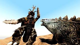 [SFM] Godzilla vs Megalon