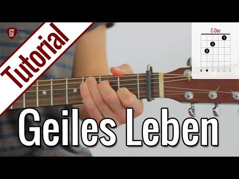 Glasperlenspiel - Geiles Leben | Gitarren Tutorial Deutsch