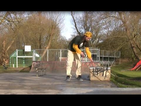 Bishops Stortford Skatepark UK -  Nicolson / Harry Hughes Skateboarding 2017
