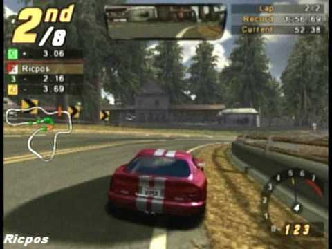 Ps2 Nfs Hot Pursuit 2 Gameplay Youtube