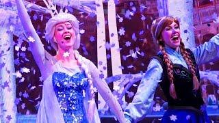 Disney Princess Songs Frozen Elsa Ariel | Kinder Playtime Walt Disney World Vlog Part 8