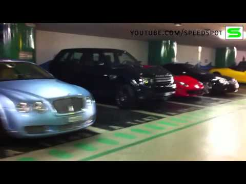 Monaco underground parking