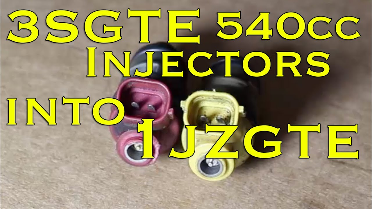 How to Install Fuel Injectors | 3sgte injectors into 1jz | Fuel Injector  Upgrade