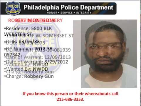Philadelphia Police Most Wanted Violent Felons Spring 2014
