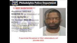 Philadelphia Police Most Wanted Violent Felons Spring 2014