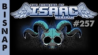 Bisnap Plays Isaac: Rebirth Episode 257 - Misplaced