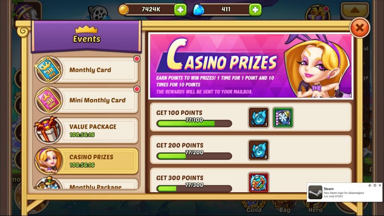 idle heroes casino