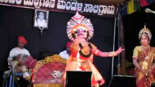 Yakshagana - Rakshabandhana - R maiyya , Chandrahas gowda , Vandar govinda