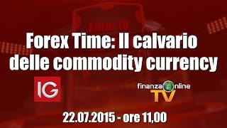 Forex Time: Il calvario delle commodity currency