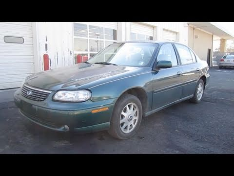 1999 Chevrolet Malibu Ls Start Up Engine In Depth Tour And Brief Drive You