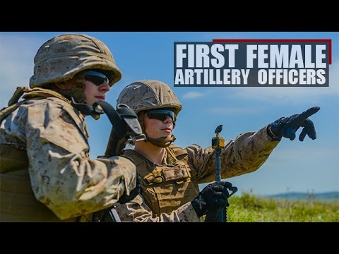 Field Artillery Officer Course graduates first two Female Marine Artillery Officers