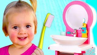 Cepillarse los dientes - Canciones Infantiles | Maya y Mary