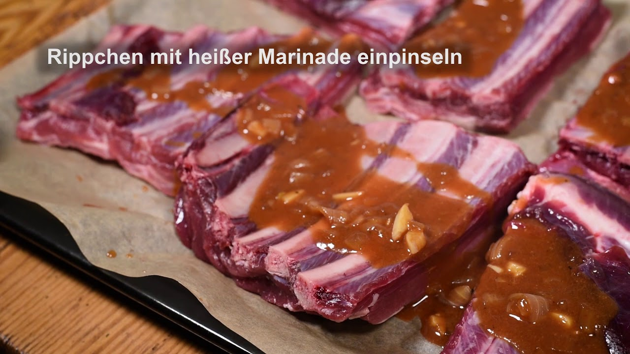 Spareribs Gasgrill Broil King : Wildschwein spareribs youtube