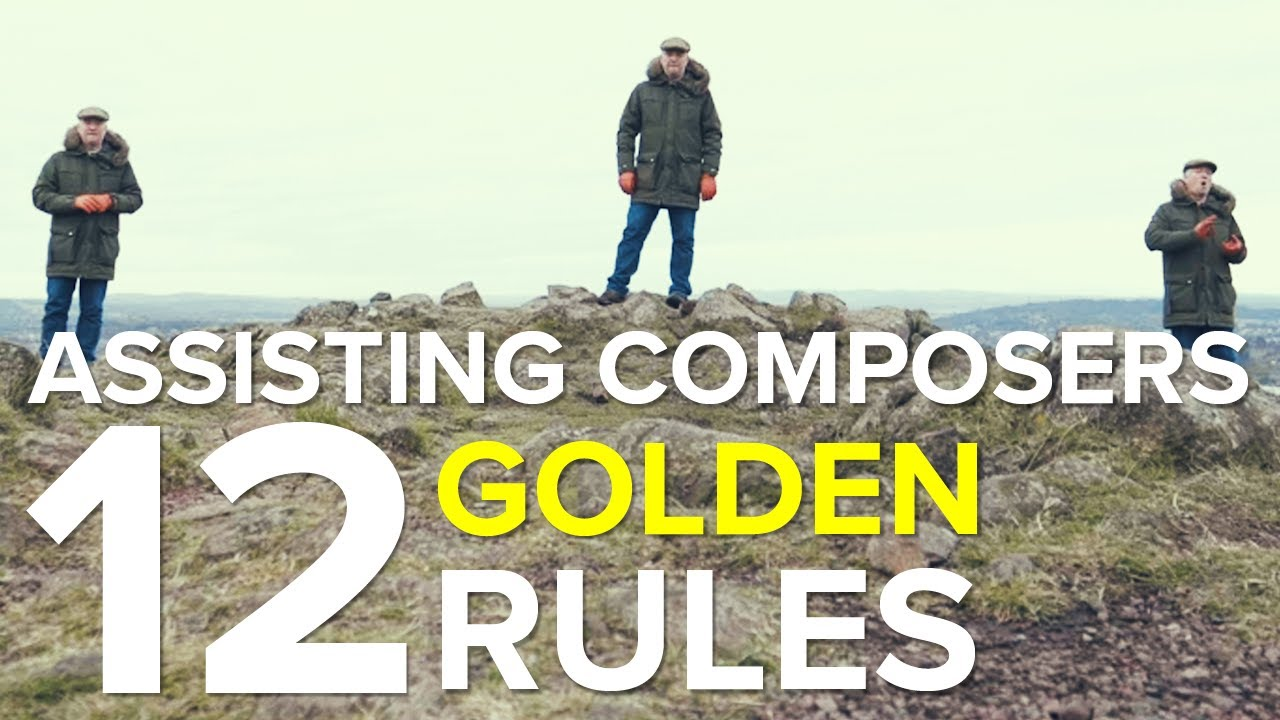 Being A Composer's Assistant - 12 GOLDEN RULES