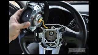 Kia Sportage 3 SL - самостійна установка кнопок на кермо (звук, круїз-контроль)