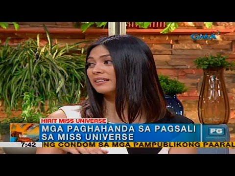 Miss Universe 2013 3rd runner-up Ariella Arida, live sa