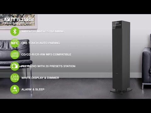 M 1350 BLUETOOTH TOWER WITH PLL RADIO, CD AND USB PORT