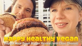 Beyond Meat Beast Burger Review (with Chao Cheese)