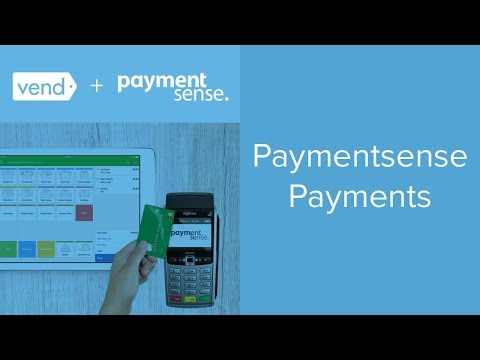 Paymentsense Payments in Vend   Vend U