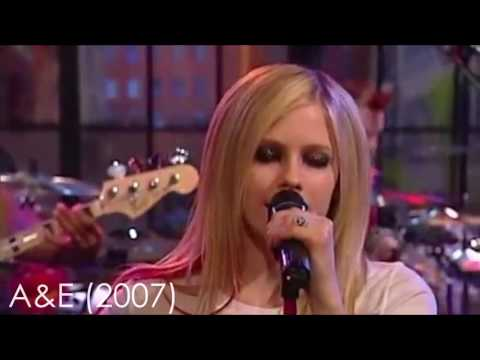Avril Lavigne - Complicated through the years
