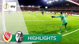 Energie Cottbus - SC Freiburg | Highlights DFB-Pokal 2018/19 - 1. Runde