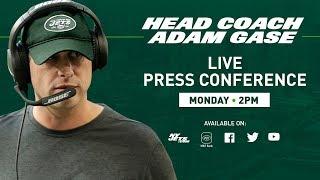 Meet Jets Head Coach Adam Gase | New York Jets Press Conference