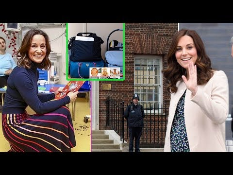 Pippa Middleton was startled about The surprising family keepsake in Kate Middleton's hospital bag