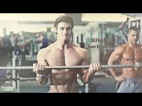 aesthetic workout motivation  jeff seid  shape you