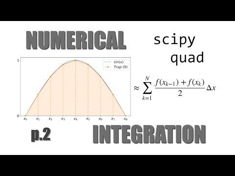 Numerical Integration! pt 2 Scipy's quad - YouTube